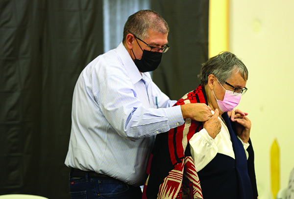 Beloved Woman Induction Ceremony held for Monteith