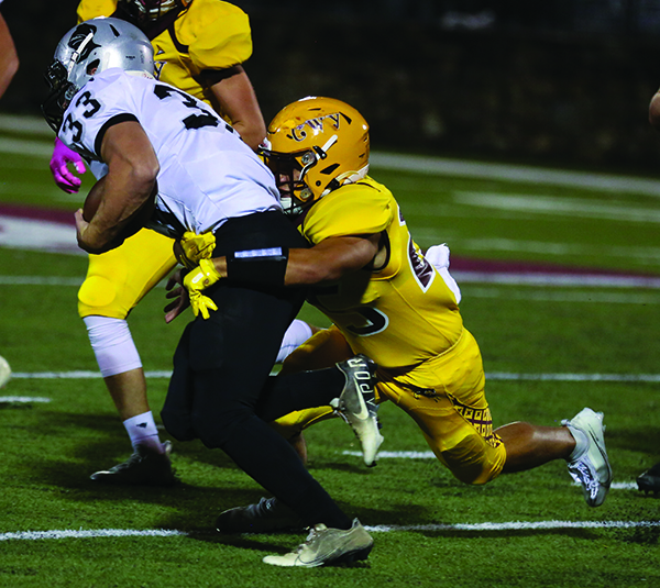 FOOTBALL: Braves top Black Knights; now tied for second in conference