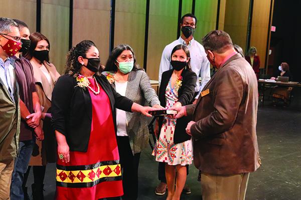 Cherokee School Board welcomes new members